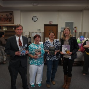 MARY H. WEIR PUBLIC LIBRARY AUTHORS EVENT